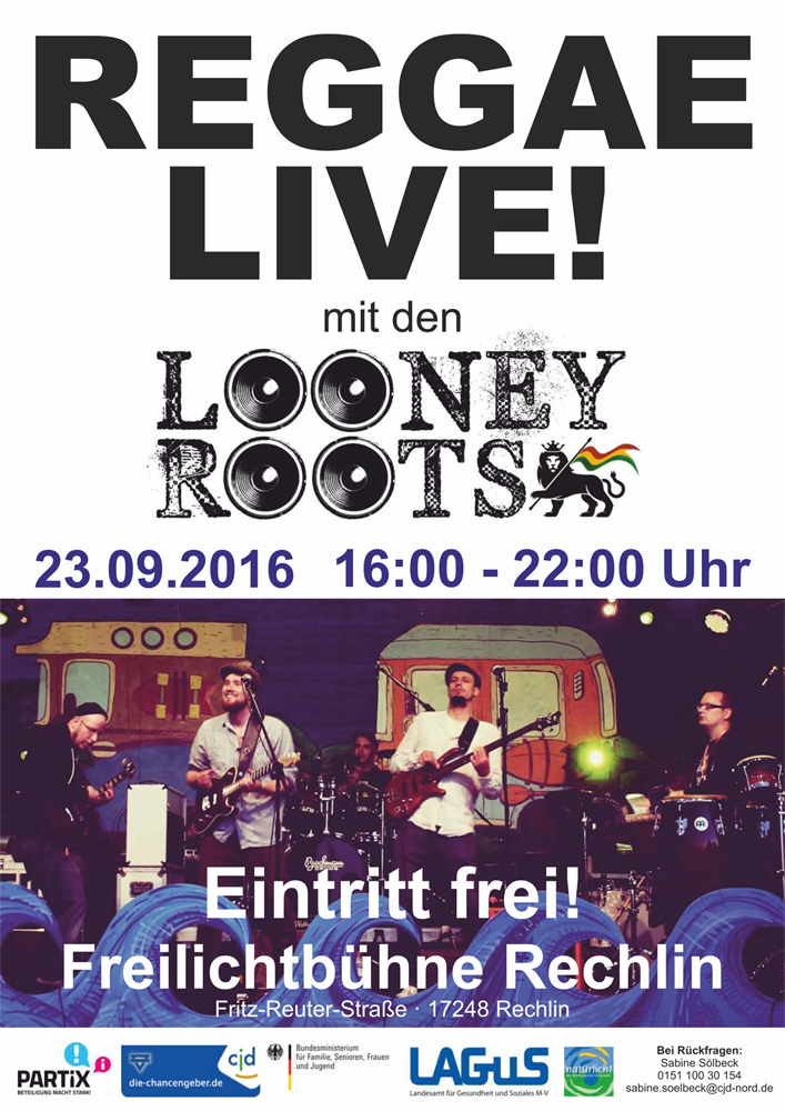 Reggae Rechlin Looney Roots